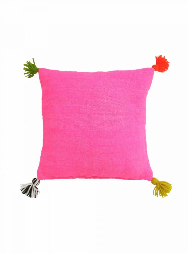Pink cushion cover 40x40 cm