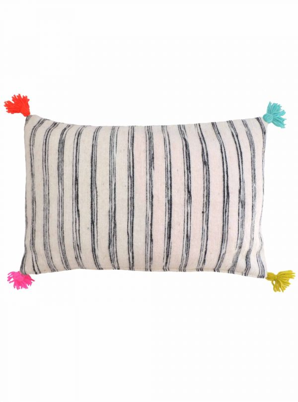 Striped cushion cover 40x60 cm