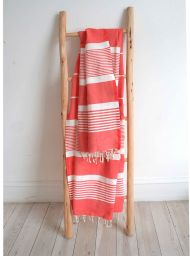 Red Hammam towel