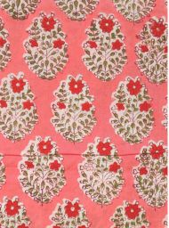 Floral fabric with flowers