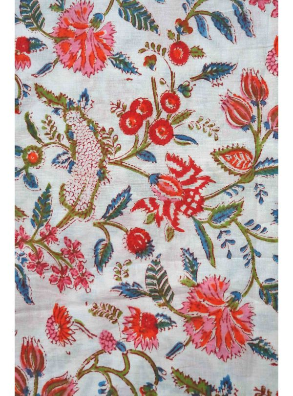 SOLD OUT Floral multi colored fabric