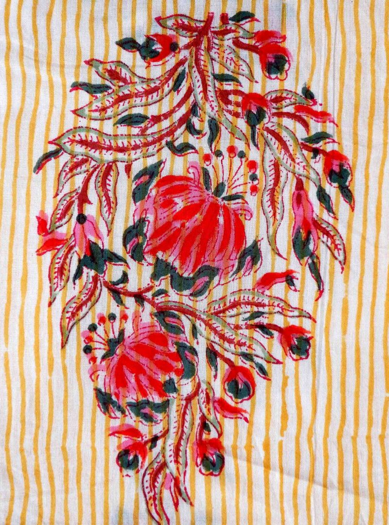Floral Indian fabric