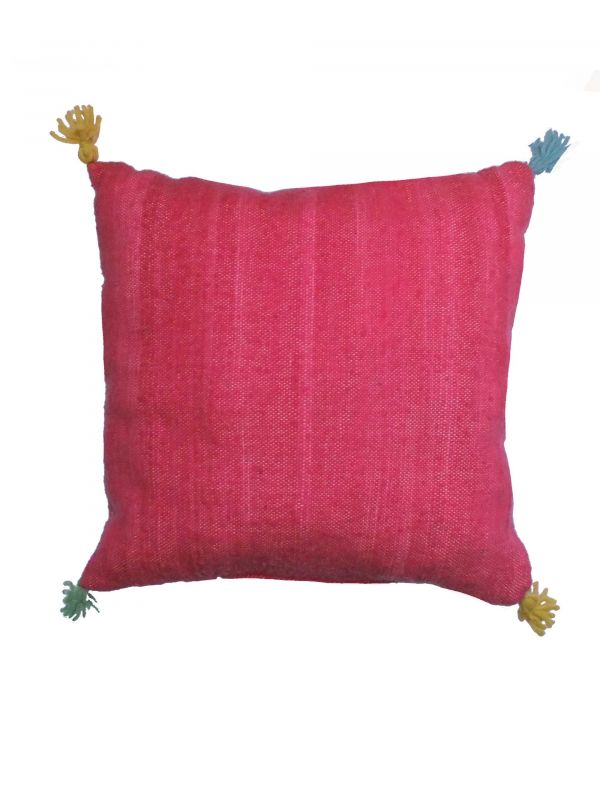 Dark pink cushion cover 50x50 cm