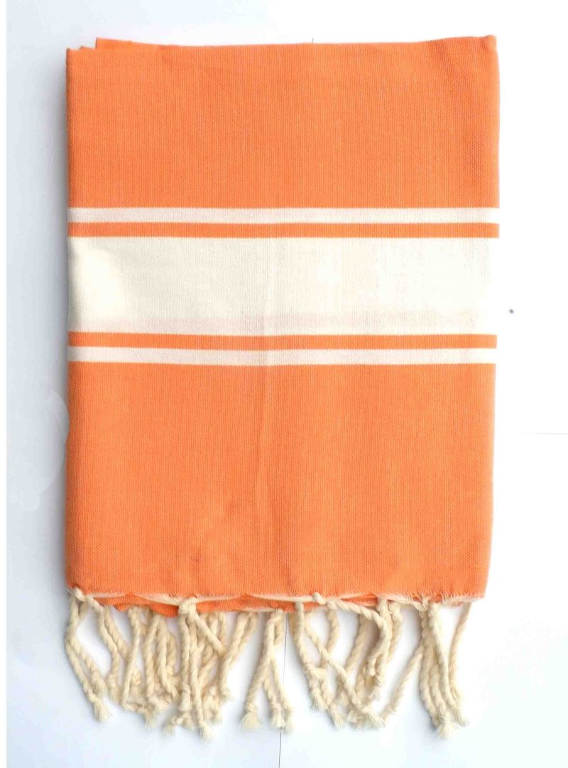 Orange Hammam towel