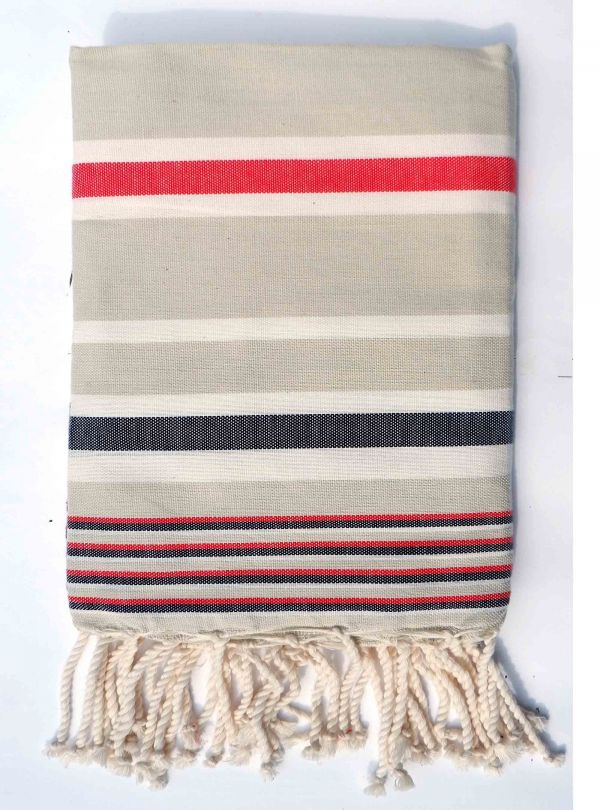 striped hammam towel for men