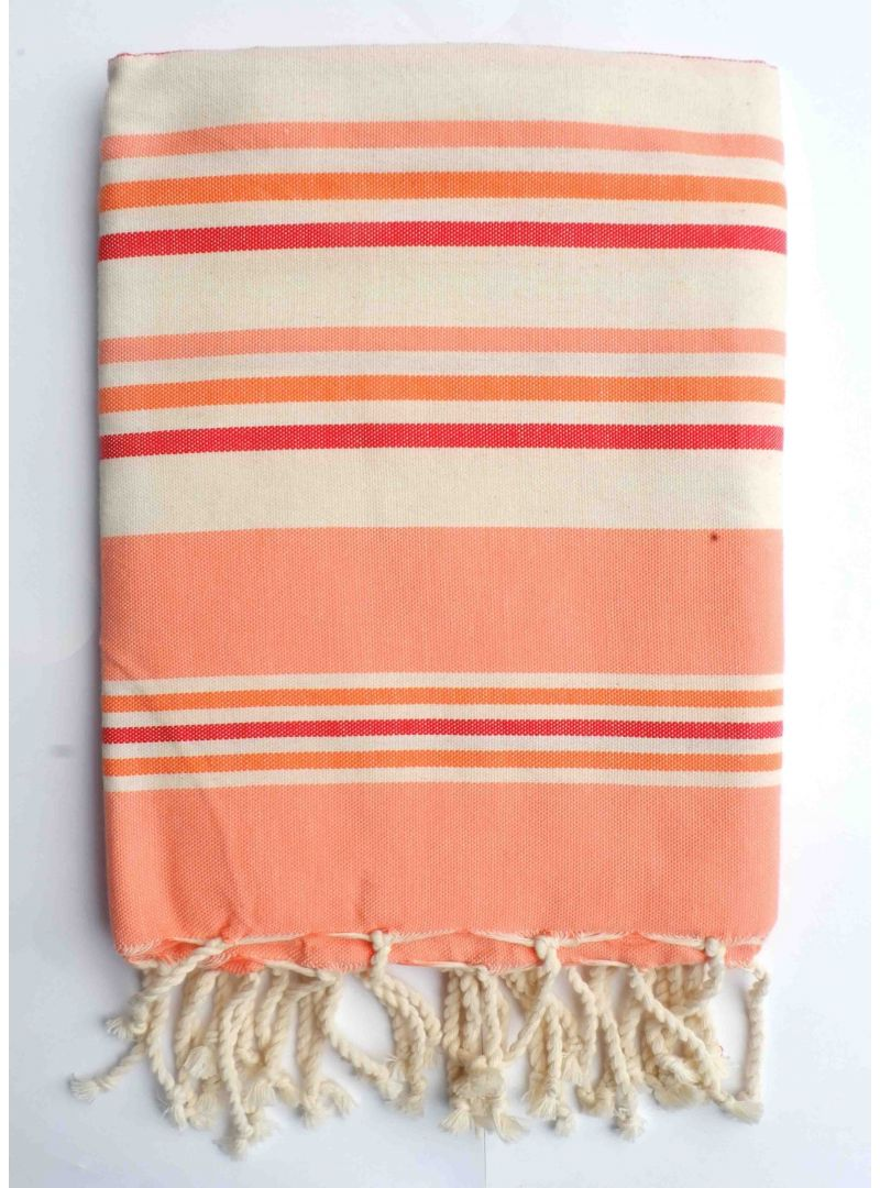 multi colored hammam towel