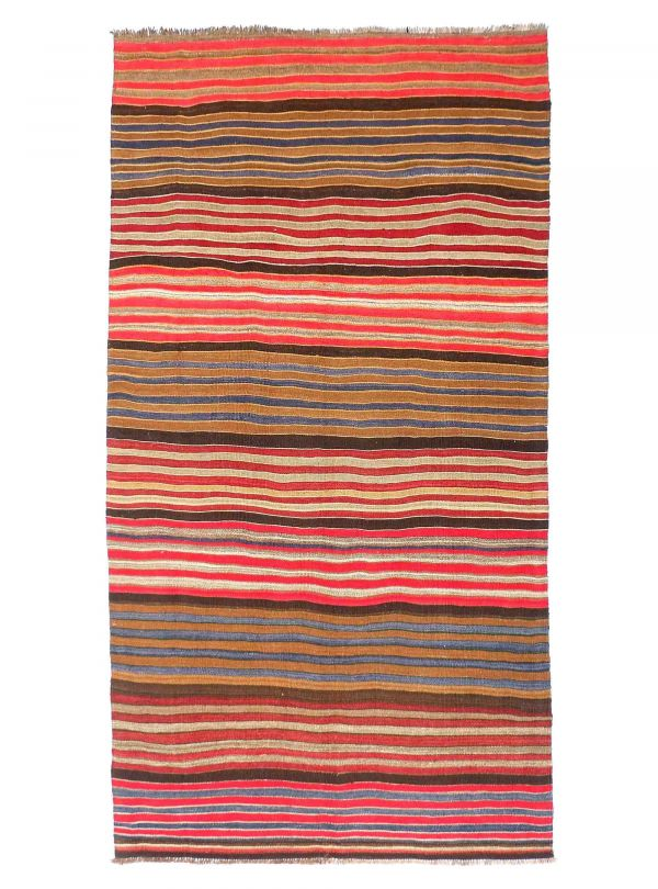 Turkish vintage rug 140x330 cm